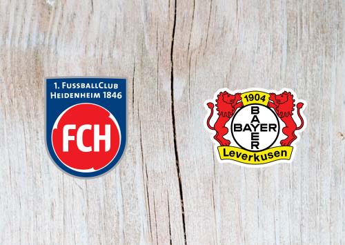 FC Heidenheim vs Bayer Leverkusen - Highlights 5 February 2019
