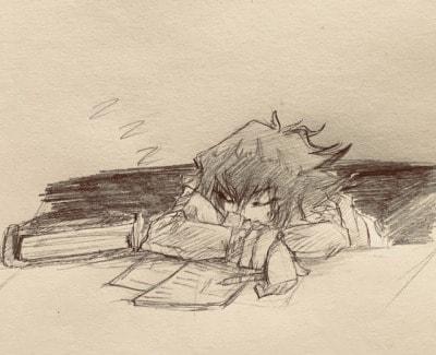 tersengguk sengguk
