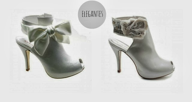wedding shoes ankle boots botines botas boda