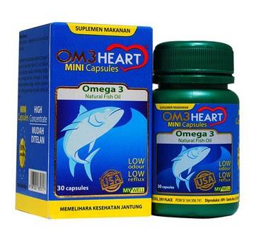Harga Om3 Heart Terbaru 2017 Vitamin Kesehatan Jantung