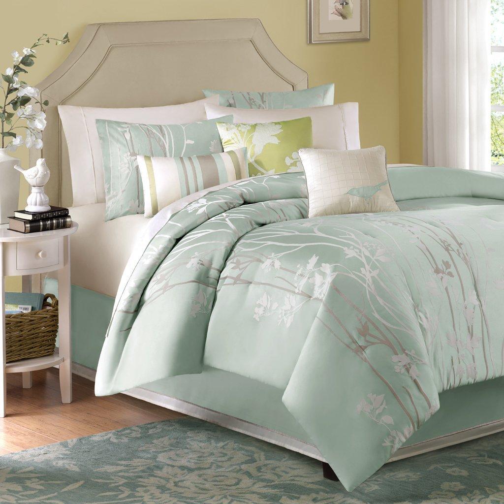 Marvelous Seafoam Green Comforter And Pillow Set Idea
