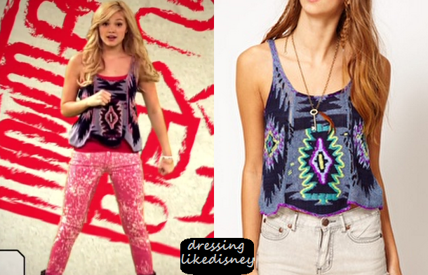 Kickin' It: Season 3 Episode 9 Kim's Knitted Aztec Print ...