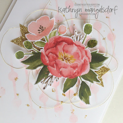 Stampin' Up! Birthday Bouquet Designer Series Paper, Birthday Card created by Kathryn Mangelsdorf