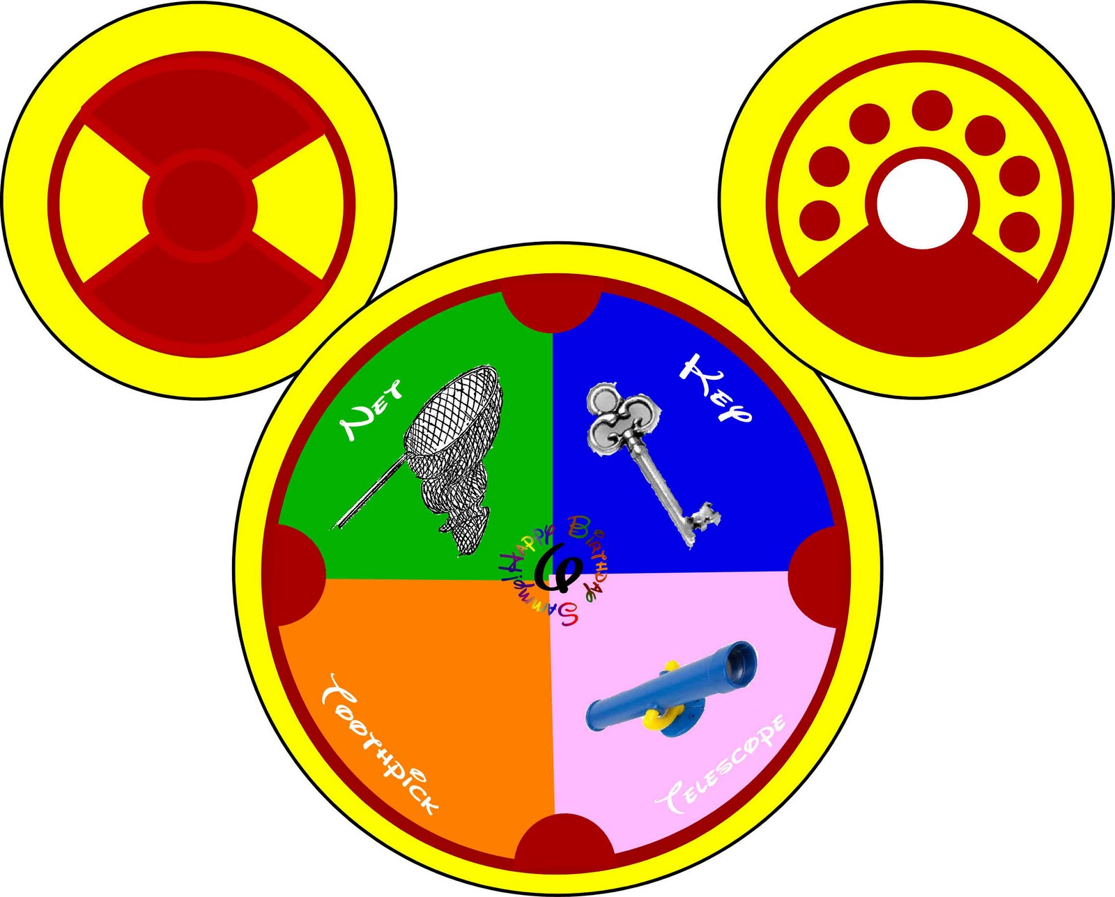 mickey mouse toodles clipart - photo #23