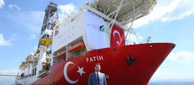 Η Τουρκία ξεκινάει γεωτρήσεις τέλη Αυγούστου στην Α.Μεσόγειο με το «Fatih» – Θα μπει στην κυπριακή ΑΟΖ;