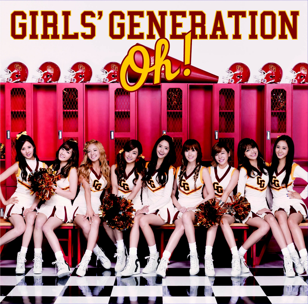 [Single] Girls' Generation – Oh! (Japanese) (FLAC)