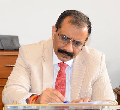 Vijai Vardhan takes charge as Haryana Chief Secretary
