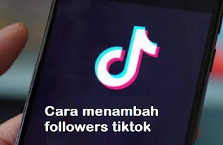 Tiktok generator || Cara menambah followers tiktok