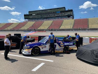 Derek Kraus - Eighth Place Finish #NASCAR Trucks