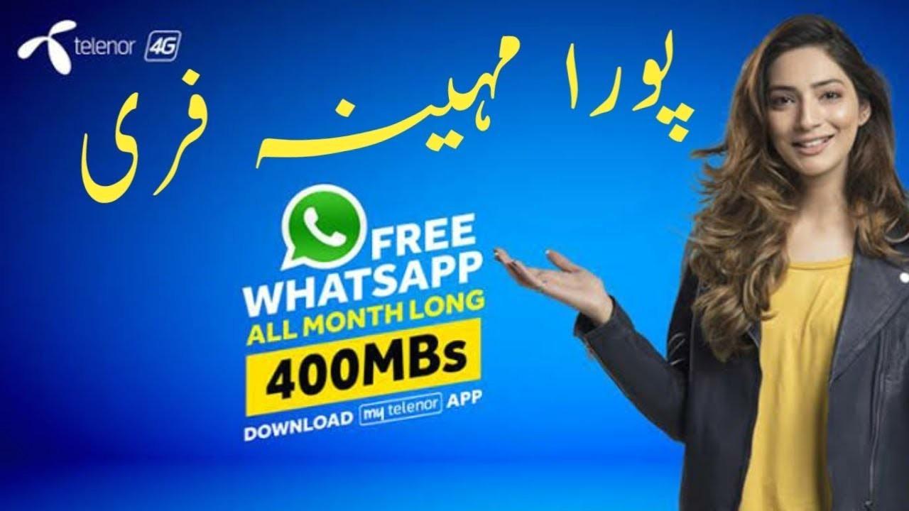 Telenor Whatsapp Packages 2020