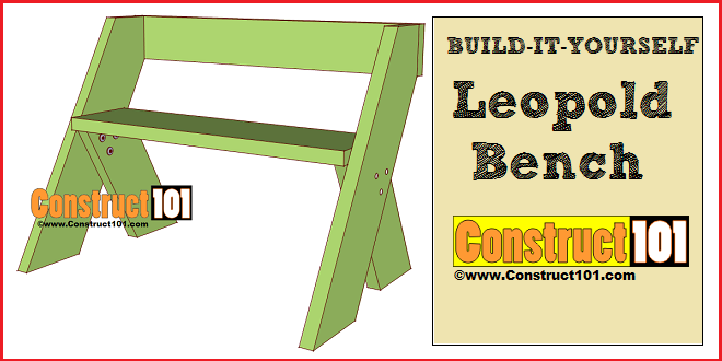 Free Woodworking Plans: Leopold Bench Plans