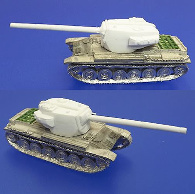 This next Centurion was a stop gap vehicle designed to counter the Soviet introduction of the IS-3.