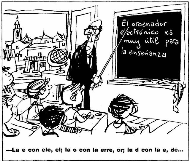 Humor gráfico maestros