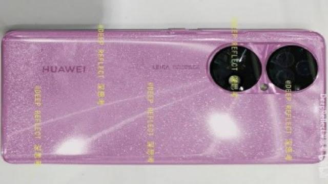 ظهور أول صور حية لهاتف Huawei P50 عبر الإنترنت