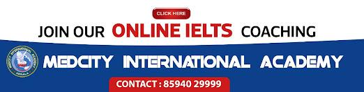 IELTS MEDCITY Online coaching