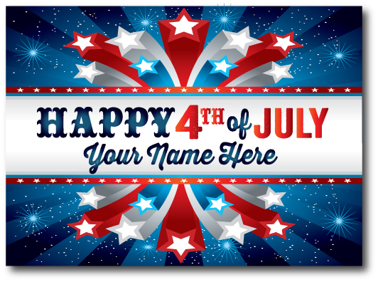 4th july USA Greetings 2017