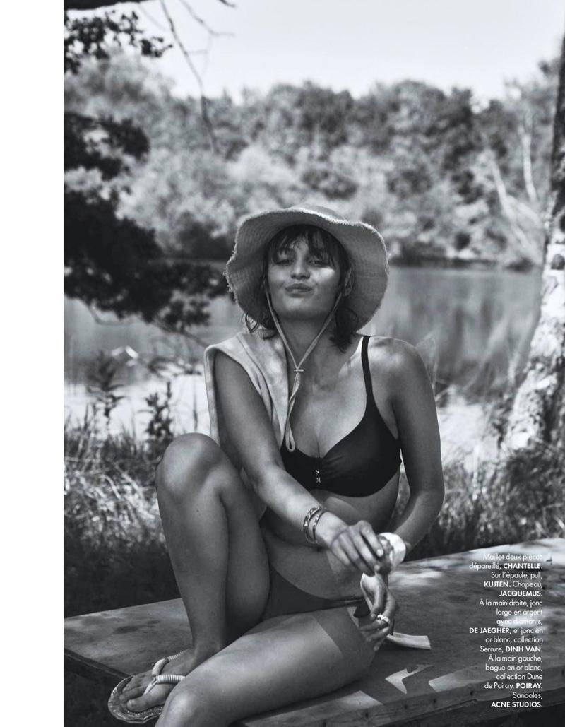 Lena Simonne ELLE France