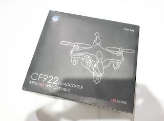 Mini Drone CF922 Quadcopter 2.4G 4CH 6-Axis 3D Headless New Sisa Stok