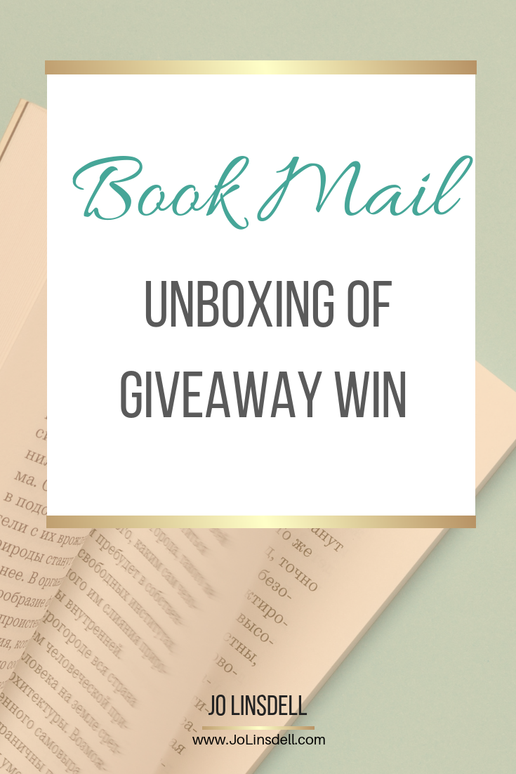 Book Mail: Unboxing Of Giveaway Win