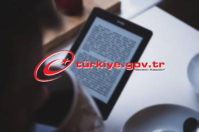 E -Devlet'e Bol Kitaplı Yenilik Halk Kütüphanesi Eklendi