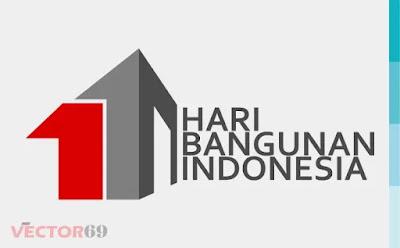 Hari Bangunan Indonesia Logo - Download Vector File SVG (Scalable Vector Graphics)