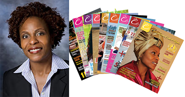 Angela Turner, founder of Curls, Twists, Coils, & Kinks Magazine