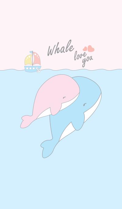Whale sweetheart