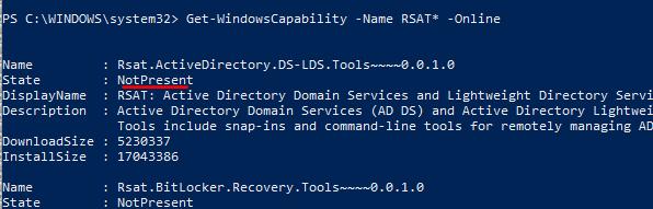 Eng  Alessandro Mazzanti: Windows 10 - How to install RSAT on