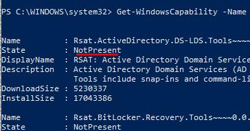 Eng  Alessandro Mazzanti: Windows 10 - How to install RSAT