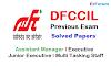 DFCCIL Previous Solved Paper [PDF]