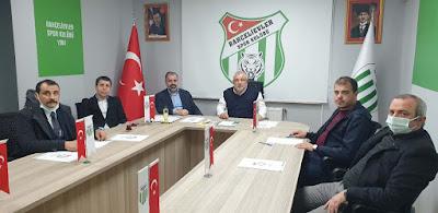 Bahçelievlerspor'da Dilaver Turizm Sahibi Levent Dilaver, resmen başkan seçildi.