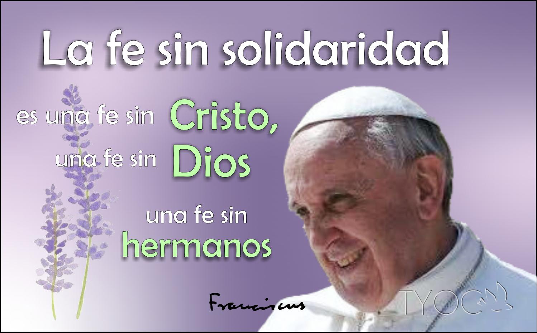Papa Francisco Vicario De Cristo Pensamiento Del Papa