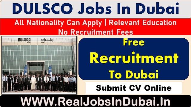 DULSCO Careers Jobs Vacancies In UAE - Dubai 2020