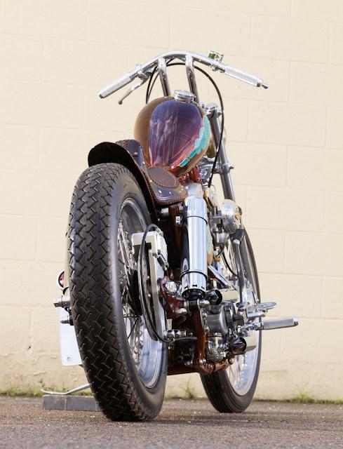 Harley Davidson Shovelhead By Alleyway Kustoms Hell Kustom