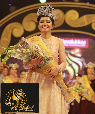 Winner Mrs. Global God's Own Country 2017