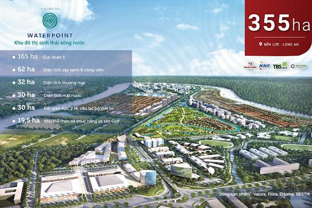 Dự án Waterpoint  của chủ đầu tư Nam Long