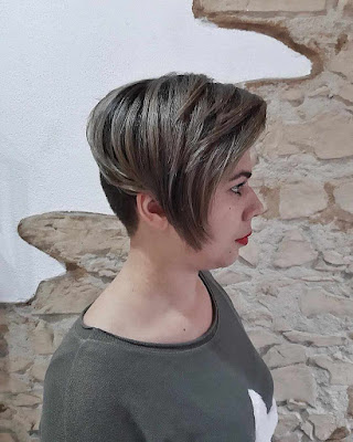 short hairstyles for round faces 2019