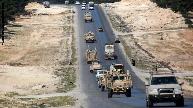 """القوات الأمريكية تكشف عن """"اصطدام وشيك"""" مع دورية روسية في سوريا"""