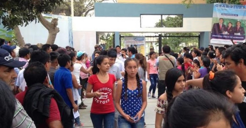 Más de mil estudiantes rindieron examen primera fase para ingresar al COAR Piura