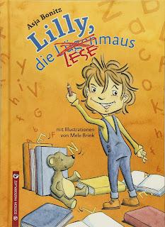 """Cover des Vorlesebuch """"Lilly, die Lesemaus"""" von Asja Bonitz"""