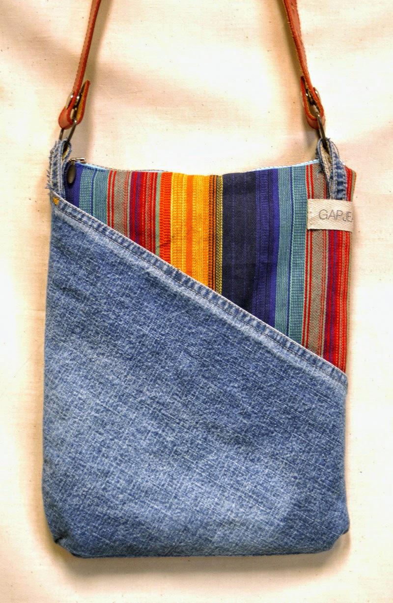 Bolsa De Tecido Jeans Passo A Passo : Feito por mim artesanato para iniciantes aprenda a