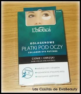 Parches de ojos con colágeno antiojeras y antibolsas de L'Biotica en Notino