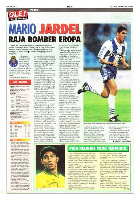 MARIO JARDEL PROFILE OF FC PORTO