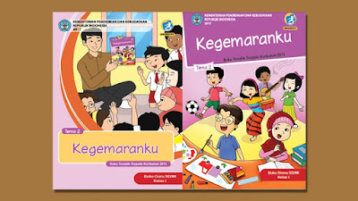 Download Buku Guru Kelas 1 Tema 2 SD/MI Kurikulum 2013 Revisi 2018