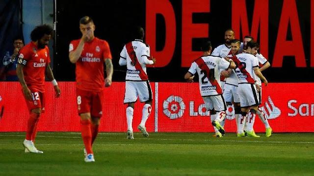 Hasil Liga Spanyol: Real Madrid Tumbang di Markas Rayo Vallecano