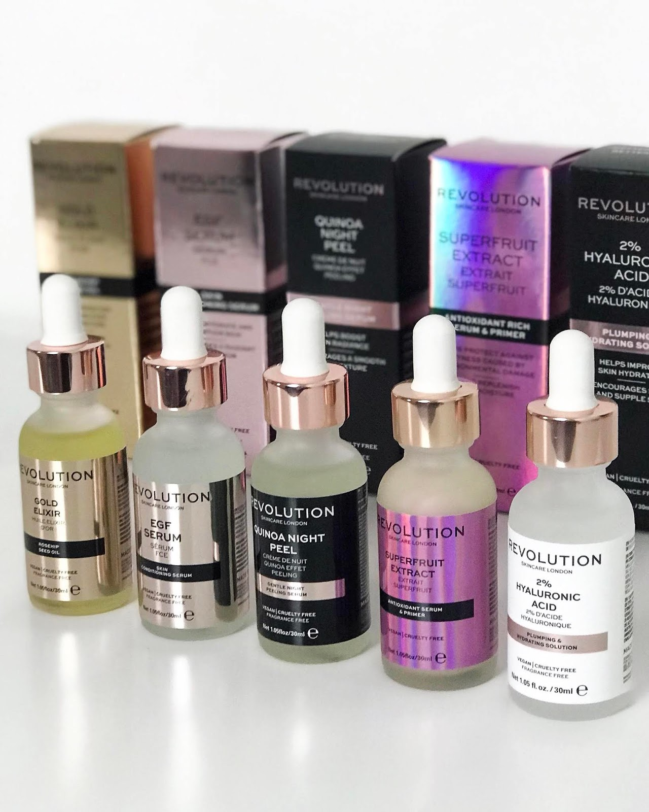 an introduction to revolution skincare