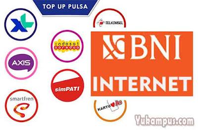 beli isi pulsa bni internet banking