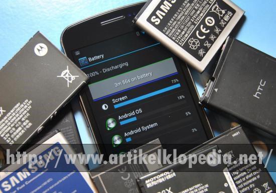 Jenis-jenis Baterai Smartphone