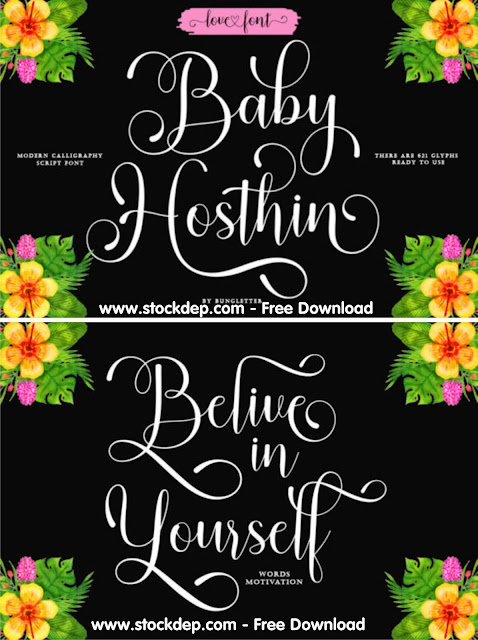 Download Baby Hosthin Font