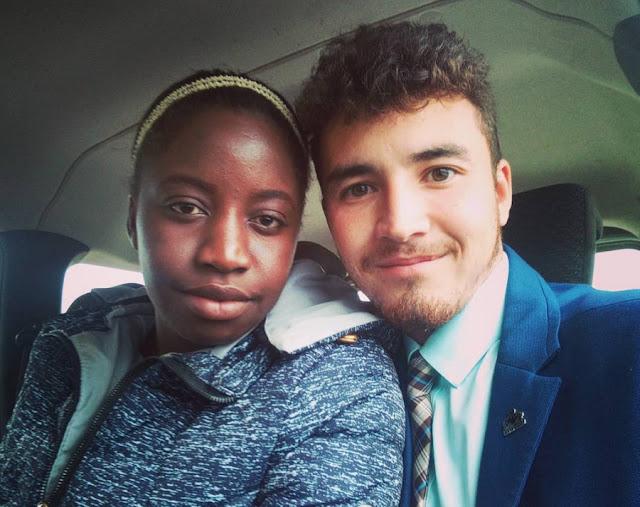 Экзотическая пара — татарин из деревни в Пермском крае и девушка-лози из Замбии — расколола общество, но ей плевать